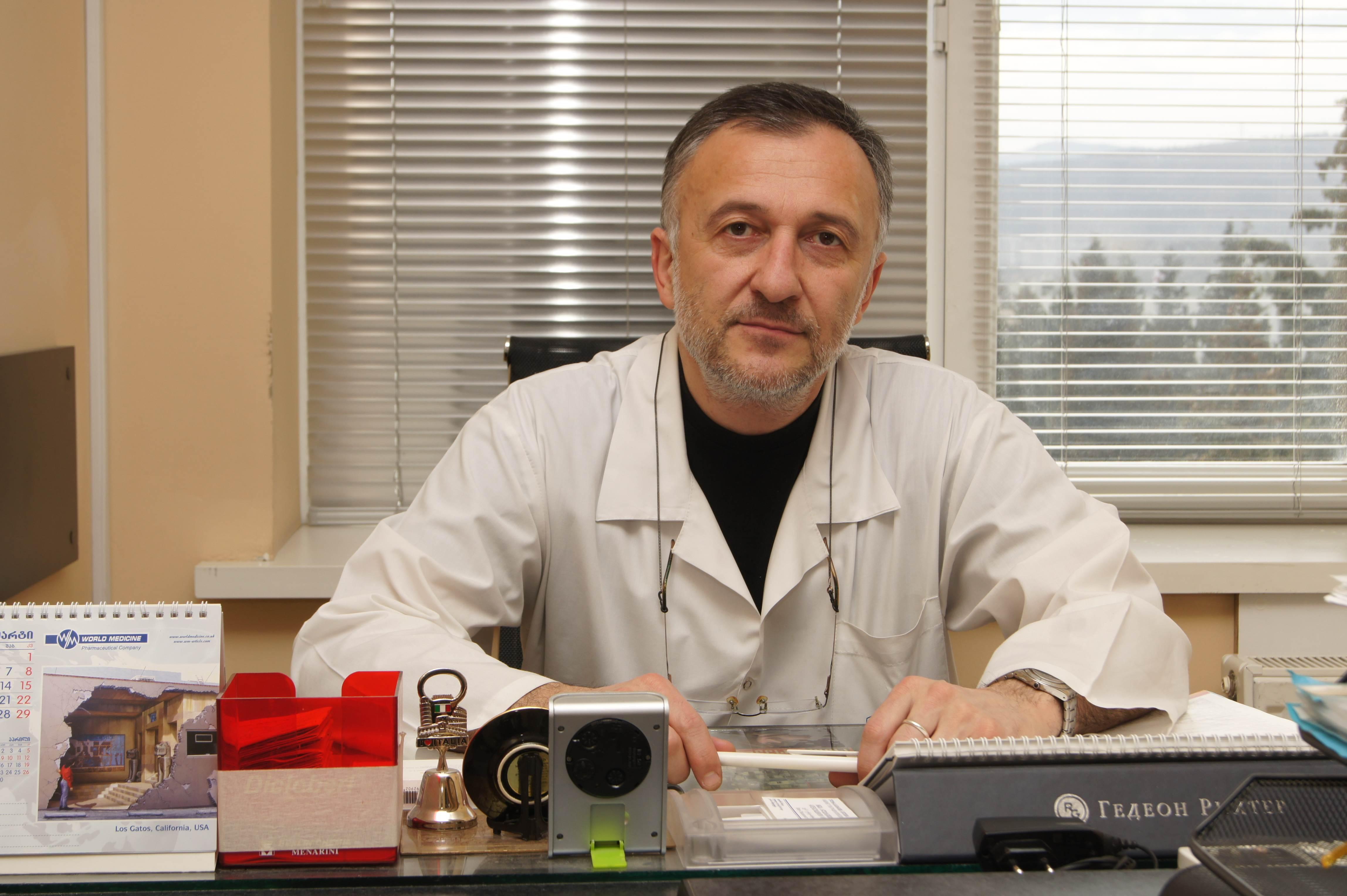ირაკლი ბენიძე დერმატო-ვენეროლოგი